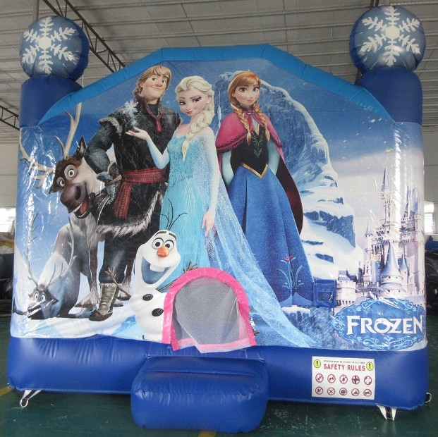 Frozen_Jumping_Castle_Front